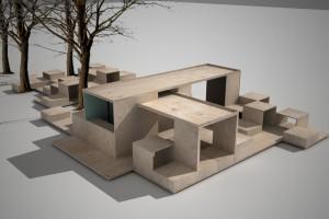 Porozmawiają o Wrocławiu w nowym pawilonie przed Muzeum Architektury
