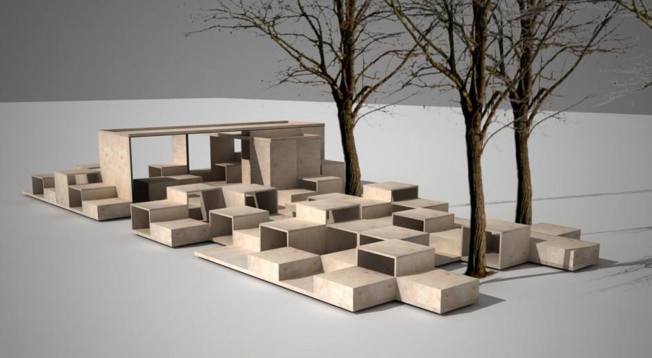 Nowa przestrzeń przed Muzeum Architektury