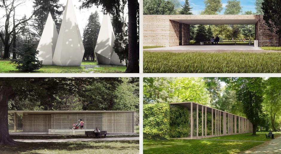 Łazienka jak stożek lub drewniany pawilon - zobacz projekty konkursowe