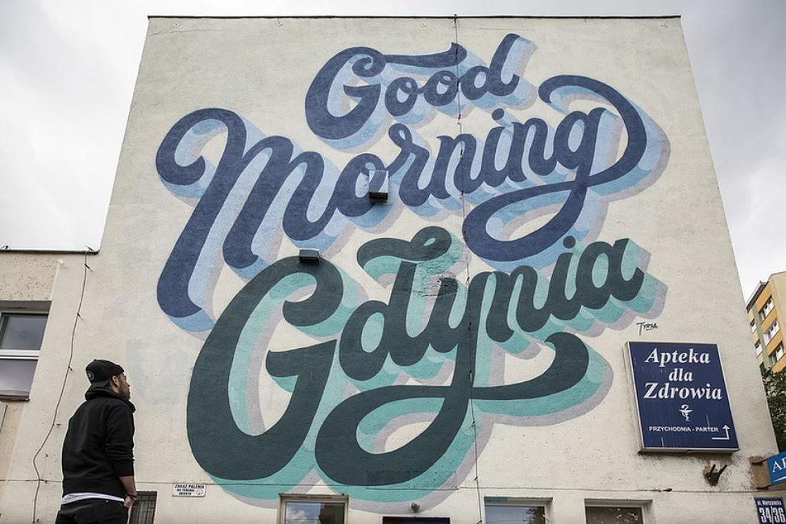 Good morning Gdynia - kolejny mural na mapie miasta