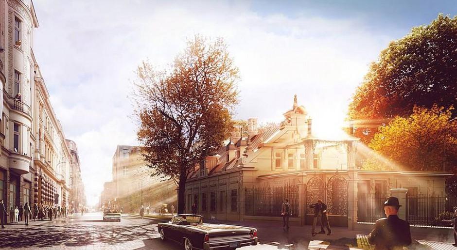 Zabytkowa willa Gehliga w Łodzi odzyskuje blask