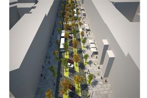 Jak ożywić fragment Szczecina? Architekt ma cztery propozycje