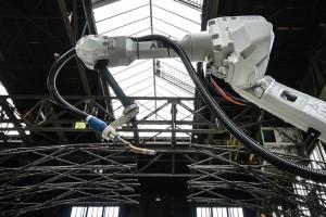MX3D wydrukują most w 3D w Amsterdamie