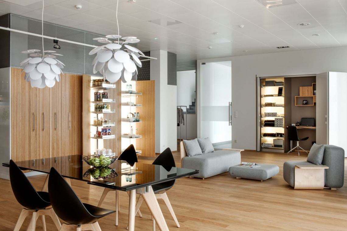 Nowy showroom Peka w Swarzędzu projektu Małgorzaty Śniadek z F3 architekci