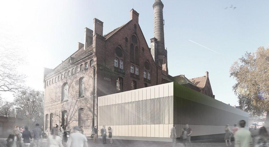 Budowa kompleksu DCSM według wizji Heinle, Wischer und Partner