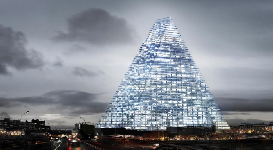 Wieżowiec-piramida powstanie w Paryżu