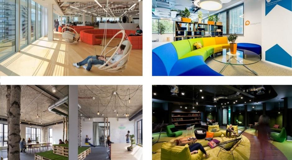 Chillout w pracy - zobacz najbardziej designerskie strefy relaksu
