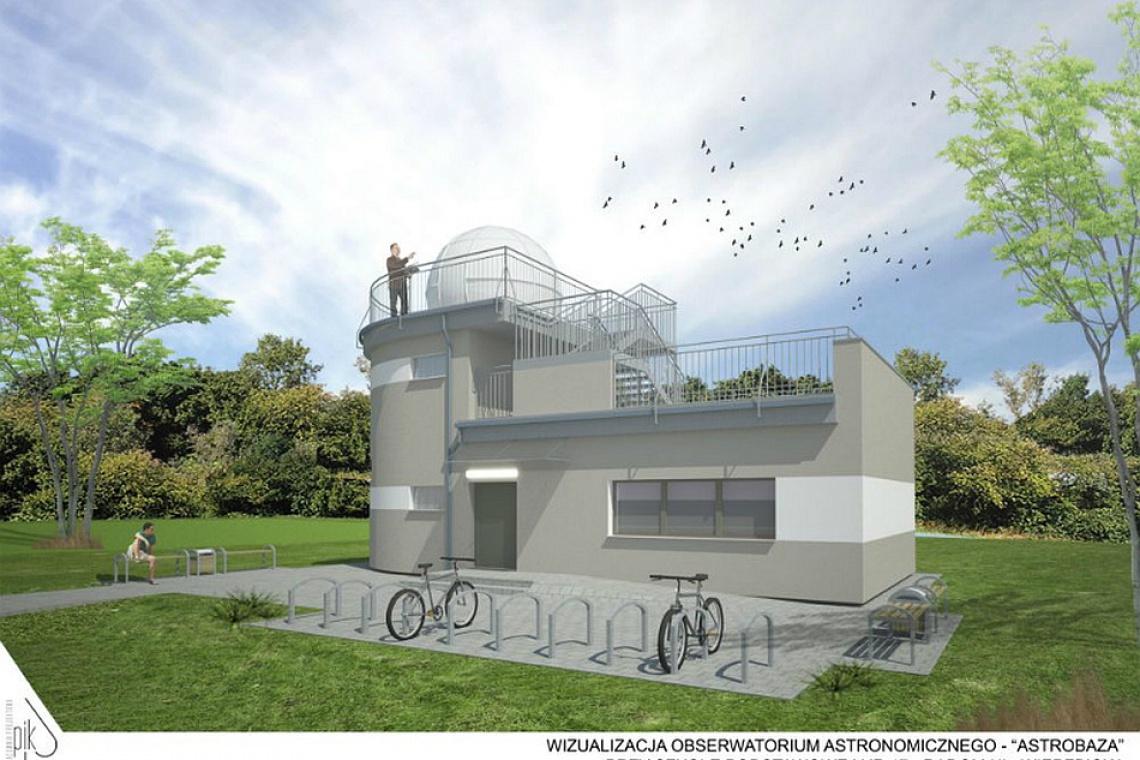 Astrobazę w Radomiu wybuduje firma Panelex