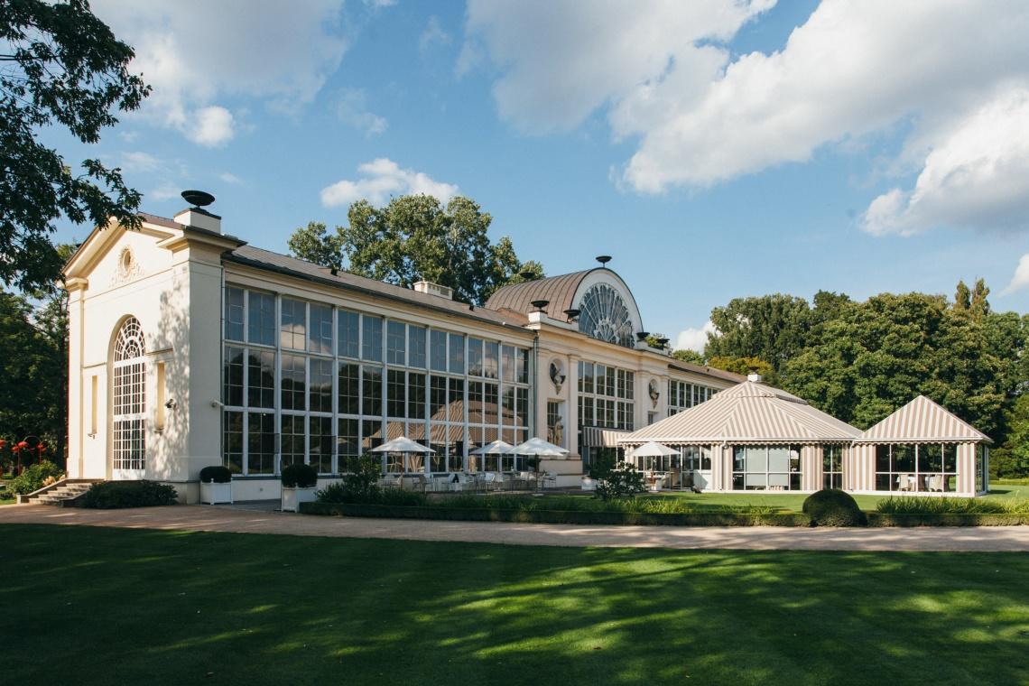 Restauracja Belvedere projektu WWAA w Łazienkach Królewskich