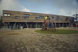 Szkoła niczym domek na drzewie projektu De Twee Snoeken