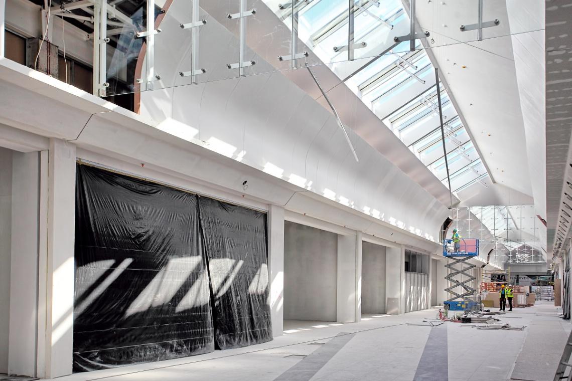 Rozbudowa Galerii Pomorskiej na zdjęciach