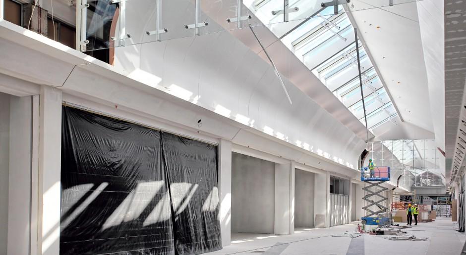 Jak wygląda rozbudowa Galerii Pomorskiej?