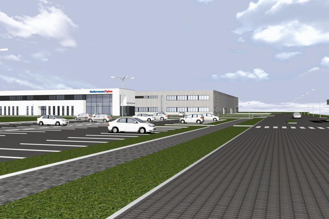 AiG Architekci zaprojektowali, a Skanska wybuduje zakład dla HellermannTyton