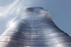Premier Tower inspirowany teledyskiem Beyonce projektu Elenberg Fraser