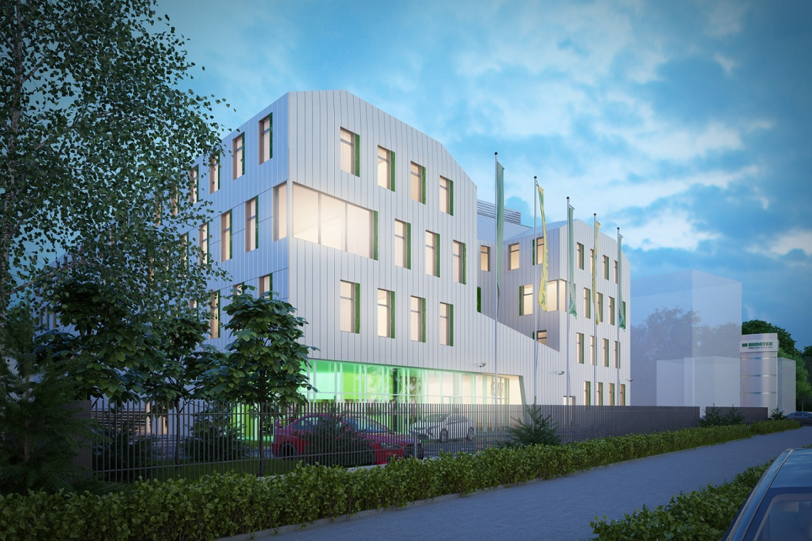 Skanska buduje dla Budotexu według projektu AP Szczepaniak