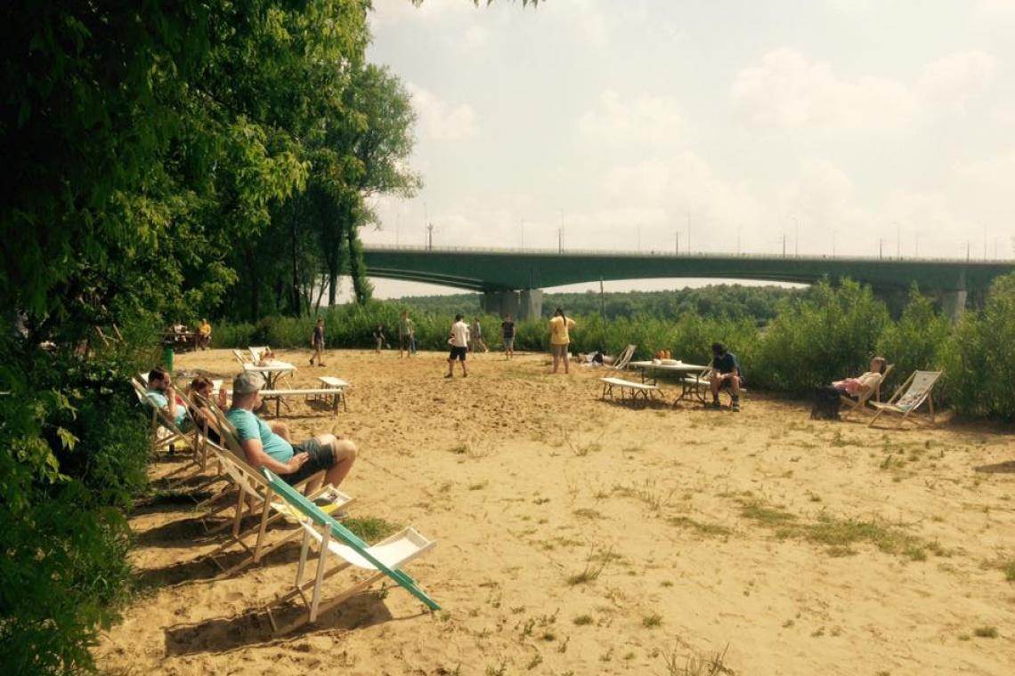 Kolejna plaża w Warszawie