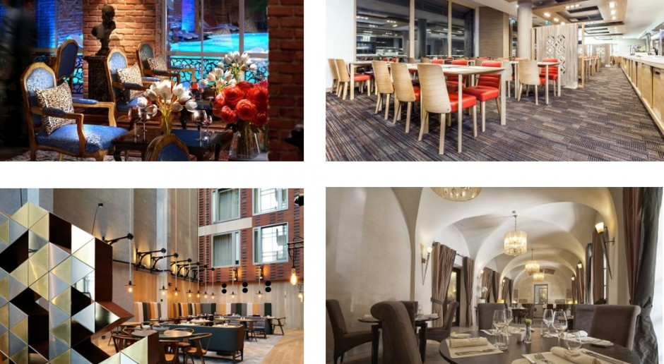 Zobacz najbardziej designerskie restauracje hotelowe