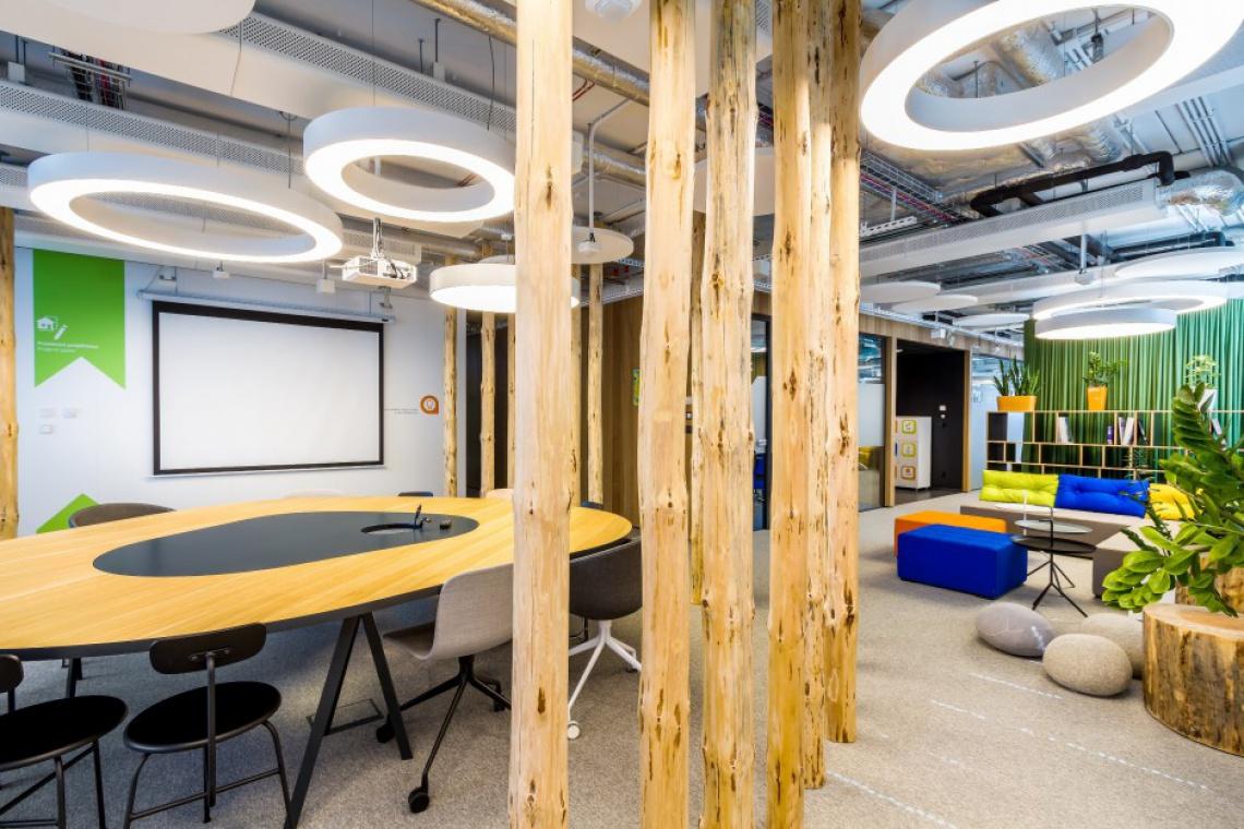Atrakcyjne biuro jest ważnym kryterium przy wyborze pracy
