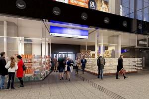 Dworzec Centralny ma już nową elewację