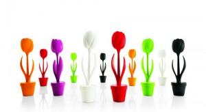Lampy jak ogromne tulipany