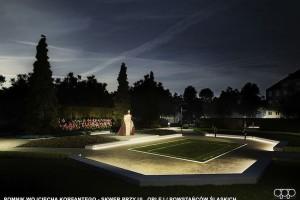 AP Szczepaniak nagrodzone za skwer przy pomniku Korfantego