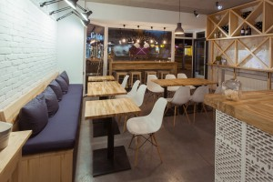 Restauracja Czerwony Piec to projekt Pauliny Kisiel