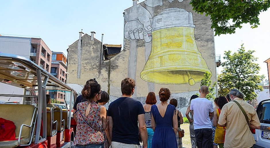 Kraków podąża szlakiem street artu