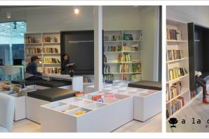 Tak wygląda Biblioforum - oryginalna biblioteka w centrum handlowym