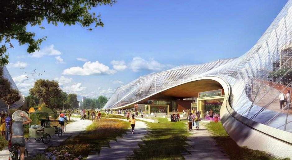 Zjawiskowa i mocno futurystyczna nowa siedziba Google w Kalifornii