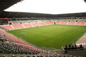 Wielkie otwarcie stadionu GKS Tychy tuż tuż