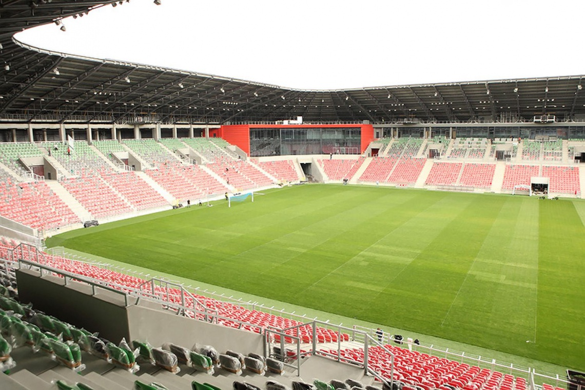Stadion Miejski w Tychach już otwarty