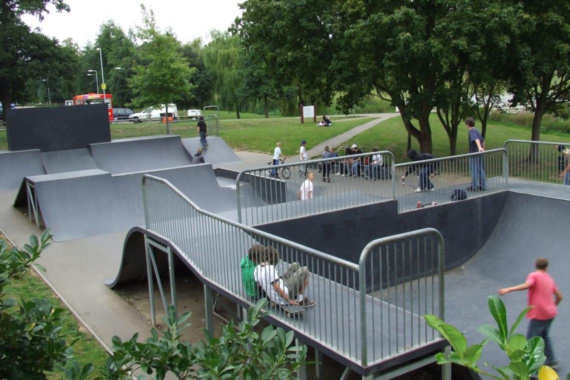 Sportowy Flow Park w warszawskim Rembertowie