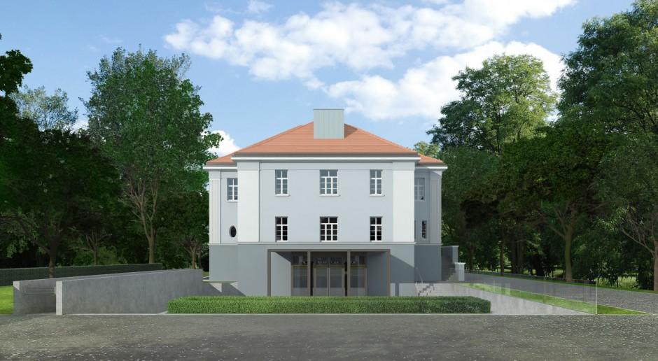Zabytkowa willa w Gliwicach odzyskuje blask