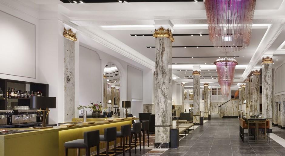 Odrestaurowany hotel łączy dawne piękno z nowoczesnością i energią Hamburga