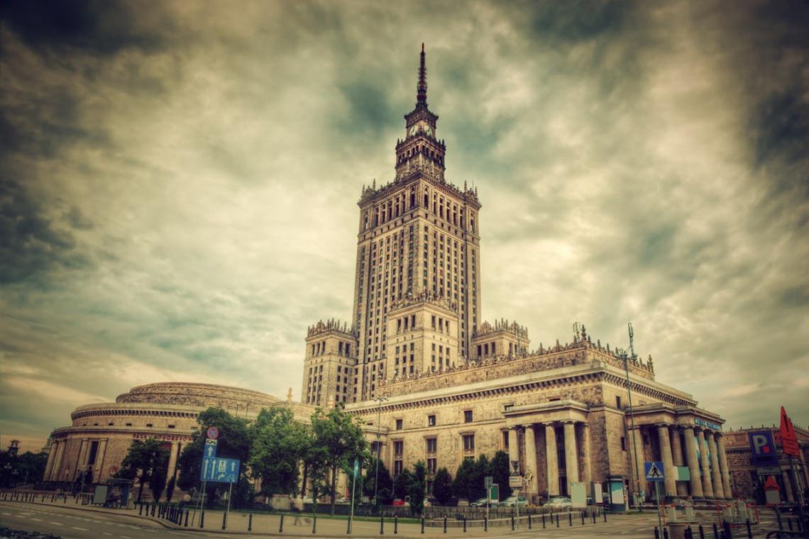 Pałac Kultury i Nauki jest świadectwem minionej epoki