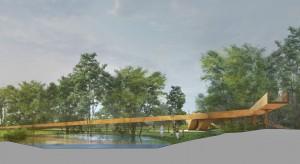 Tak będzie wyglądała kładka pieszo-rowerowa w Busku