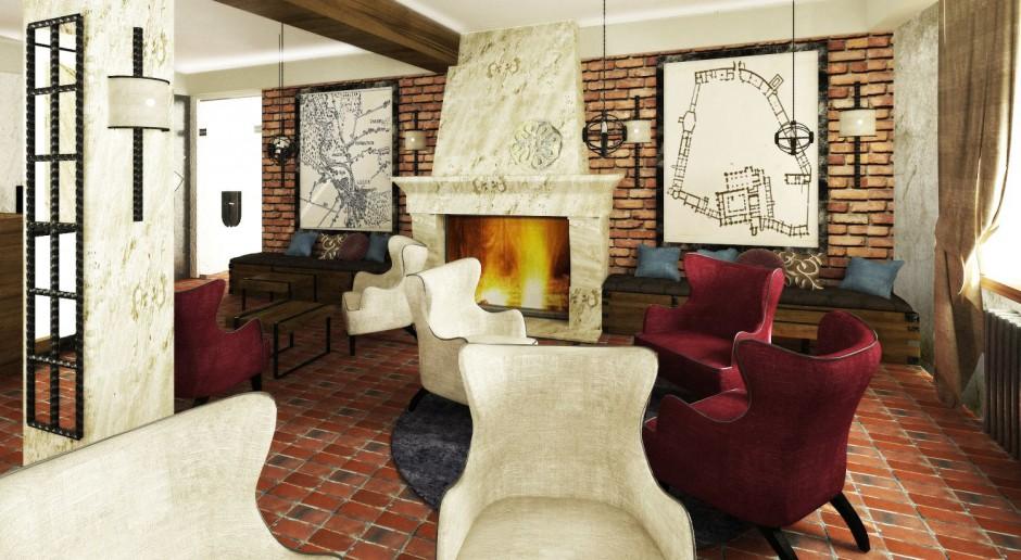 Nowe wnętrza hotelu w Opactwie Cystersów mają zaskakiwać
