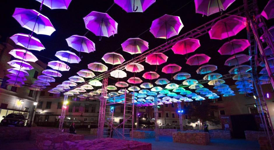 Magiczna iluminacja LED na Starym Mieście w Lublinie