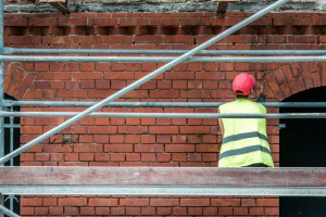 Trwa przebudowa zabytkowego budynku we Wrocławiu