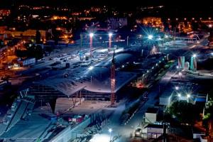 Dworzec Łódź Fabryczna nabiera kształtów