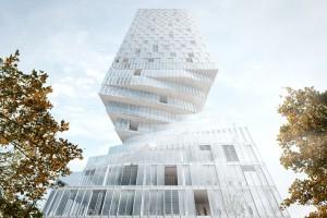 Kobiece kształty inspirują architektów