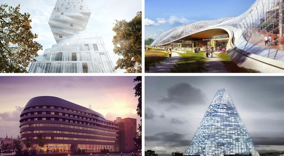 Fantazje architektów - oto biurowce o nietypowych kształtach