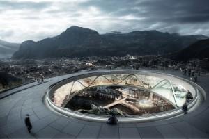 Podróż z miasta w samo serce Alp