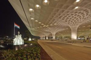 Design na hinduskim lotnisku