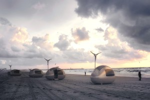 Ekokapsuła - wybiegający w przyszłość projekt od Nice architects