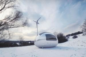 Futurystyczna ekokapsuła - kup i zamieszkaj, gdzie chcesz
