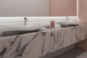 Pięć pomysłów na aranżację łazienki w biurowcu