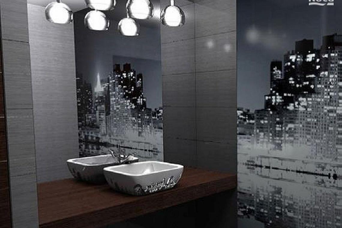 Pięć pomysłów na aranżację łazienki w biurowcu - Architektura