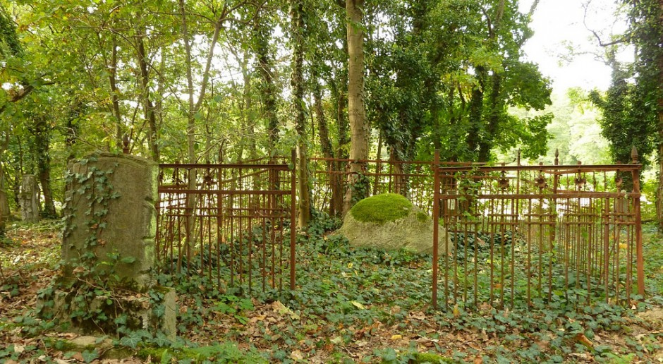 Renowacja zabytkowego cmentarza w Hucie Starej