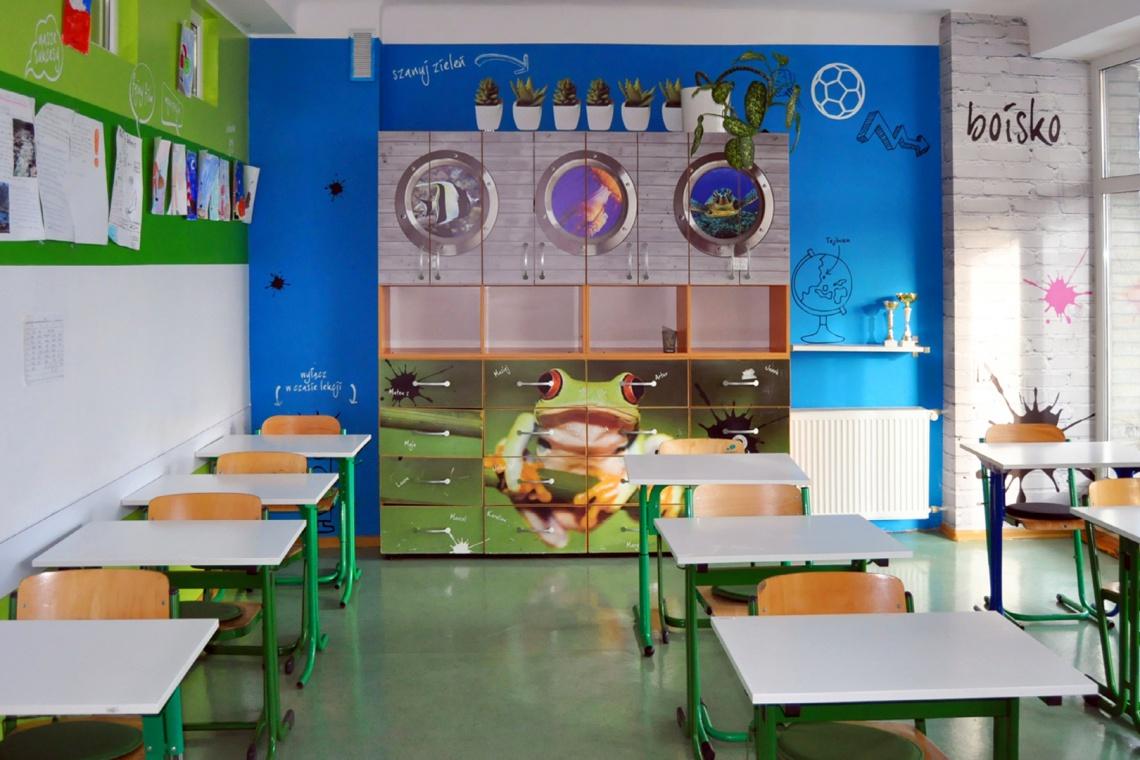 Oryginalna i kreatywana przestrzeń - taka może być nowoczesna szkoła